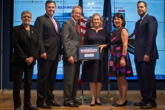 Senator Kristen Gillibrand with 911 Health Watch Board of Directors