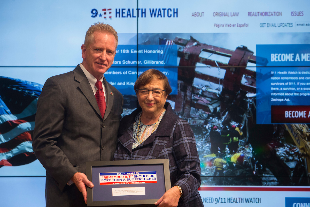 Richard Alles introduced Sheila Birnbaum, the former Special Master of the September 11th Victim Compensation Fund